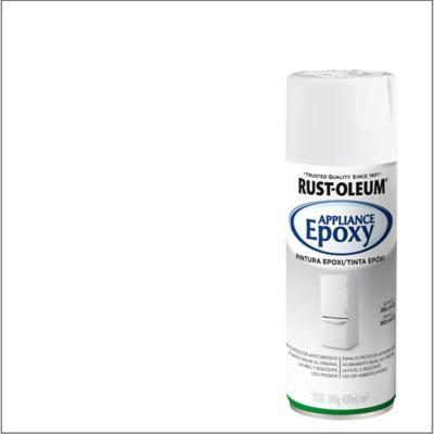 Pintura en spray para electrodomésticos brillante 340 gr blanco