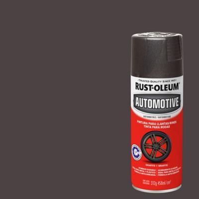 Pintura en spray para llantas mate 340 gr grafito