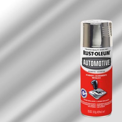 Protector en spray para auto metálico 340 gr cromo