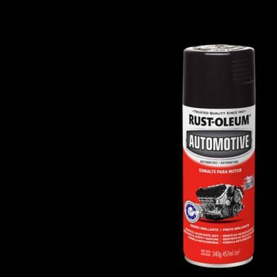 Esmalte en spray para motor brillante 340 gr negro