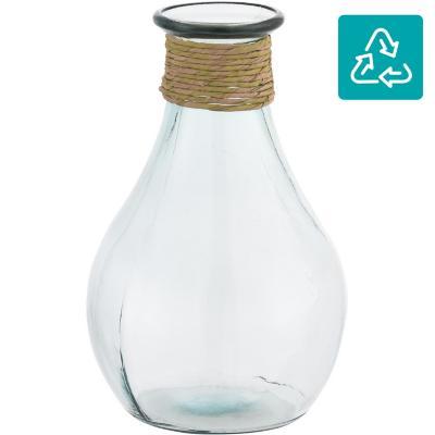 Jarro 31 cm vidrio transparente