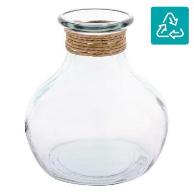 Jarro 21 cm vidrio transparente