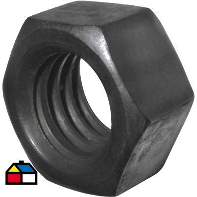 Tuerca hexagonal 1/4 100 unidades