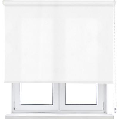Cortina enrollable L2000 105x190 cm blanco