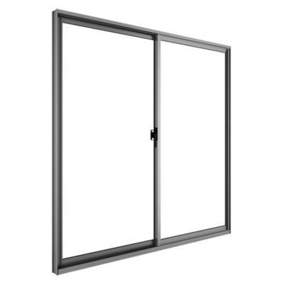 Ventana monolítica aluminio intermedio next 100x100 mate corredera