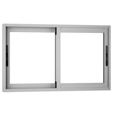 Ventana monolítica aluminio premium select 100x60 mate corredera