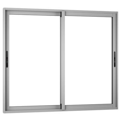 Ventana monolítica aluminio premium select 140x120 mate corredera