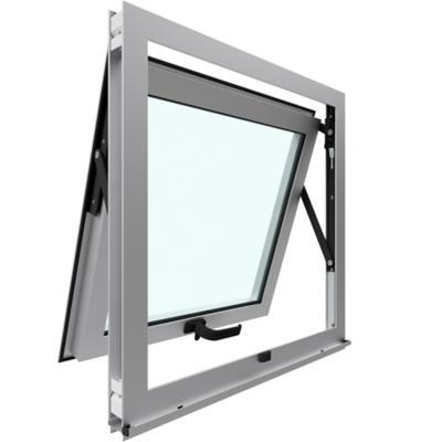 Ventana proyectante aluminio premiun 60x60 cm mate