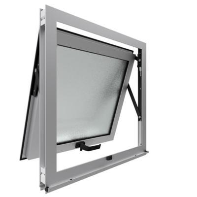 Ventana proyectante monolítica stipolite aluminio premium select 60x60 mate