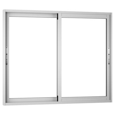 Ventana corredera aluminio premiun 121x100 cm blanco