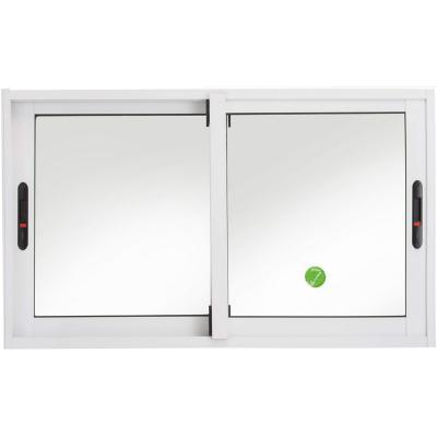 Ventana corredera aluminio premiun 100x60 cm blanco