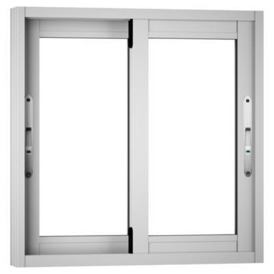 Ventana monolítica aluminio premium select 60x60 blanco corredera