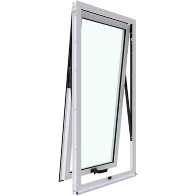 Ventana proyectante aluminio premiun 60x120 cm blanco