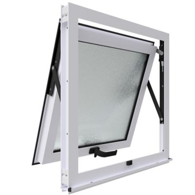 Ventana proyectante monolítica stipolite aluminio premium select 60x60 blanco