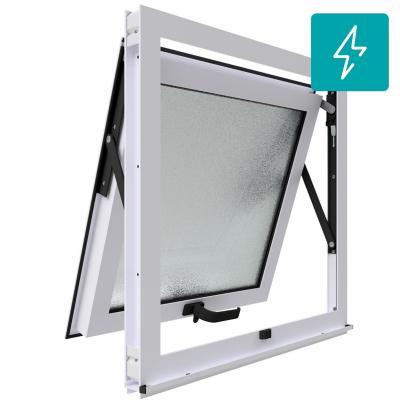 Ventana proyectante termopanel stipolite aluminio premium select 60x60 blanco