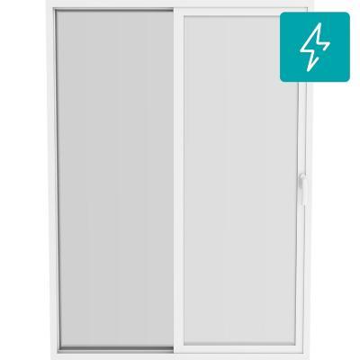 Ventanal Patio Door termopanel PVC americano klassik 150x205 blanco corredera