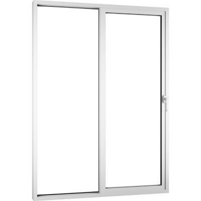 Ventana Patio Door corredera PVC básico americano termopanel 150x205 blanco