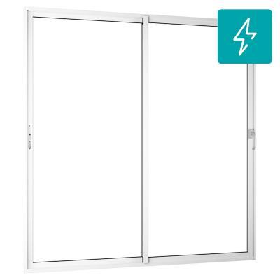 Ventanal Patio Door termopanel PVC americano klassik 195x205 corredera