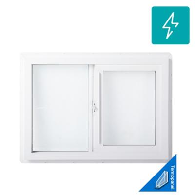 Ventana termopanel stipolite PVC americano klassik 70x50 blanco corredera