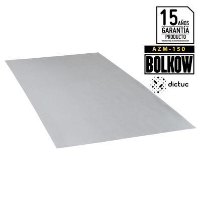0.40 x 950 x 2500 mm, Plancha Lisa, Zinc