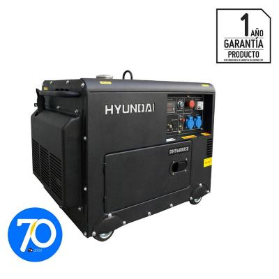 Generador eléctrico a diesel 5300 W