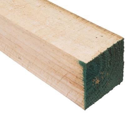 3 x 3 x 3,20 m Pino dimensionado verde
