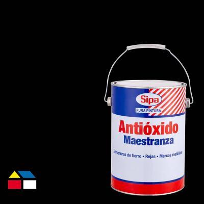 Pintura antióxido opaco 1 gl negro