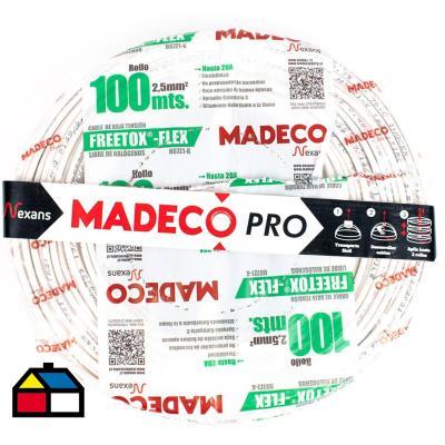 Cable libre de halógenos (H07Z1K) 2,5mm2 100 m Blanco