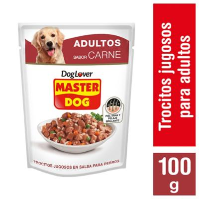 Alimento húmedo para perro adulto 100 gr pollo, carne y vegetales