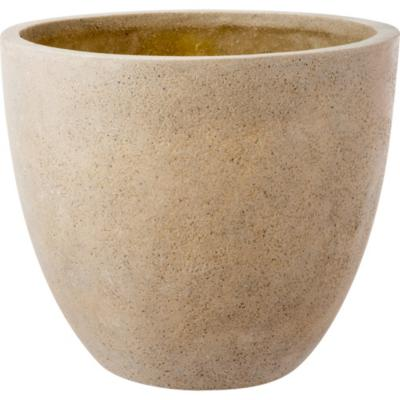 Macetero de cerámica 57x50 cm arena