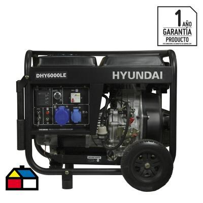 Generador eléctrico a diesel 5000W