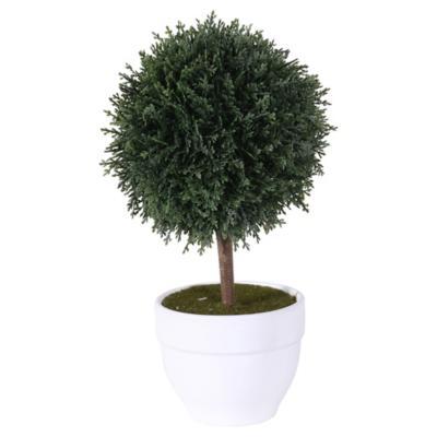 Topiary artificial 26x15x15 cm con macetero