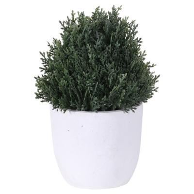Planta artificial 18x12x18 cm con macetero