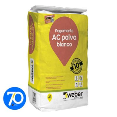 Adhesivo pocelanato muro superficie flexible 24,5kg