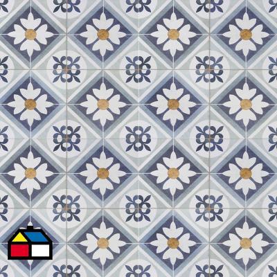 Cerámica azul 45x45 cm 2,08 m2
