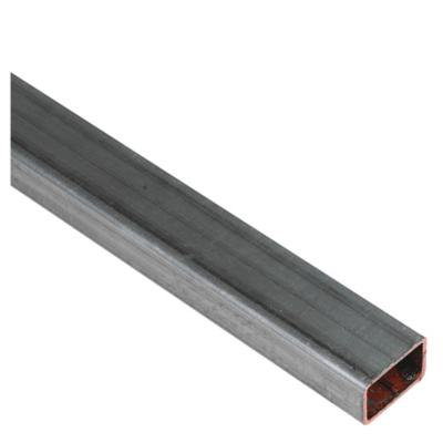30x20x1,5 mm x 6 mt Tubo Galvanizado Rectangular