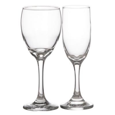 Set 12 copas de espumante vidrio
