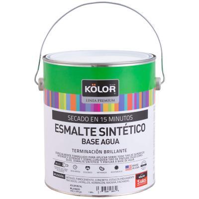 Esmalte para metales brillante 1 gl blanco