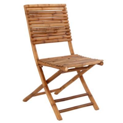 Silla bambú 90x43x55 cm