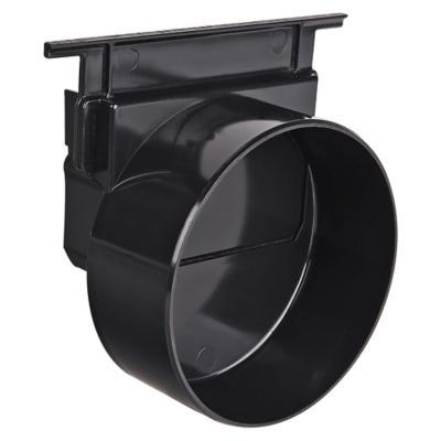 Tapa salida rejilla galvanizada 110 mm