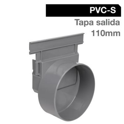 Tapa salida rejilla PVC 110 cm