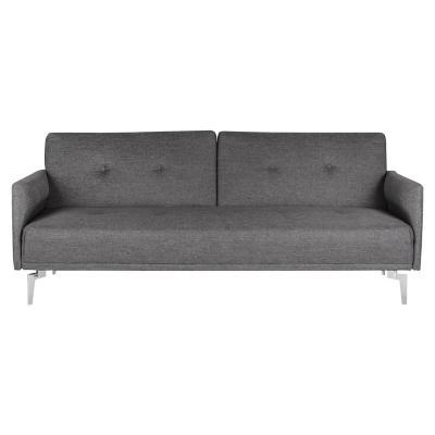 Futón 199x86x82 cm gris