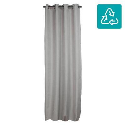 Set de cortinas tela 140x250cm Lucca gris
