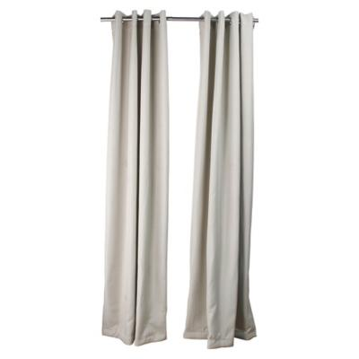 Set de cortinas tela 140x250cm Lucca beige
