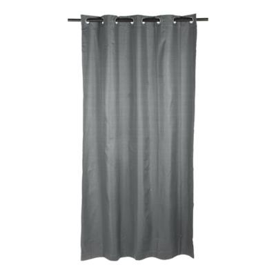 Cortina black-out 140x220cm Texturada gris