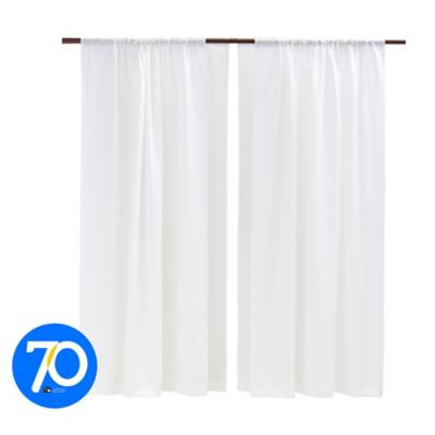 Combo cortina +velo 145x200cm crudo