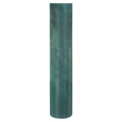Malla jardín 10x10mm Verde 1x10m