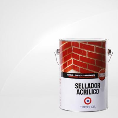 Sellador acrílico semibrillante 1 gl