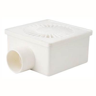 Pileta PVC 100mm x 53mm x 40mm Blanco 1u