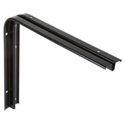 Soporte para repisa metal 25x30 cm negro